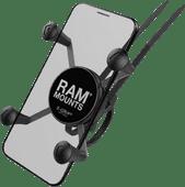 RAM Mounts Universele Telefoonhouder Fiets EZ-ON/OFF Stuur Klein