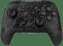 PDP Faceoff Draadloze Nintendo Switch Deluxe Controller Neon Zwart Camo