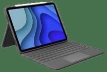 Logitech Folio Touch Apple iPad Pro 11 inch (2021/2020) Toetsenbord Hoes AZERTY Grijs