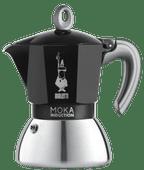 Bialetti New Moka Induction Zwart 4 kopjes
