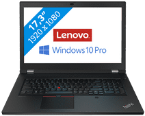 Lenovo Thinkpad P17 G1 - 20SN001JMB Azerty