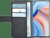 Azuri Wallet OPPO Reno4 Pro Book Case Zwart