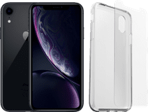 Apple iPhone Xr 64 Go Noir Reconditionné + Otterbox Clearly Protected Full Body Transparen