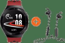 Huawei Watch GT 2E Sport Rouge avec écouteurs