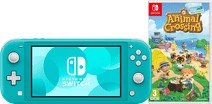 Nintendo Switch Lite Turquoise + Animal Crossing + Nintendo Switch Online (3 maanden)