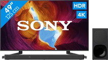 Sony KD-49XH9505 + Barre de Son