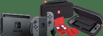 Nintendo Switch (2019 Upgrade) Grijs + Bigben Nintendo Switch Travel Case Zwart