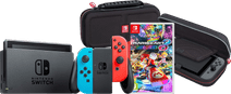 Pack Gaming en Déplacement - Nintendo Switch (Version 2019) Rouge/Bleu