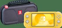 Nintendo Switch Lite Geel + Bigben Officiële Nintendo Switch Lite Beschermtas