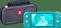 Nintendo Switch Lite Turquoise + Bigben Officiële Nintendo Switch Lite Beschermtas