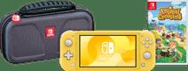 Game onderweg pakket - Nintendo Switch Lite Geel