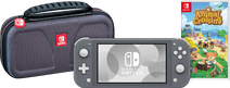 Pack Gaming en Déplacement - Nintendo Switch Lite Gris