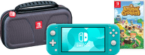 Game onderweg pakket - Nintendo Switch Lite Turquoise