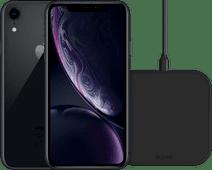 iPhone Xr 64 Go Noir Reconditionné + Chargeur sans Fil ZENS 10 W Noir