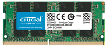 Crucial 16GB 2666MHz DDR4 SODIMM Dual Rank (1x16GB)