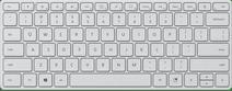 Designer Compact Toetsenbord Bluetooth AZERTY