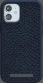 Nordic Elements Njord Apple iPhone 12 mini Back Cover Leer Blauw