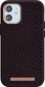 Nordic Elements Njord Apple iPhone 12 mini Back Cover Leer Paars