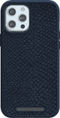 Nordic Elements Njord Apple iPhone 12 Pro Max Back Cover Leer Blauw
