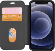 Otterbox Strada Apple iPhone 12 mini Book Case Leer Zwart