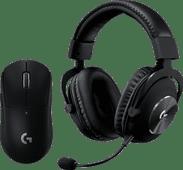 Logitech G PRO X Gaming Headset + Logitech G Pro X Superlight Draadloze Gaming Muis Zwart