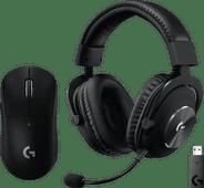 Logitech G PRO X Wireless LIGHTSPEED Gaming Headset +  Logitech G Pro X Gaming Muis