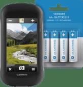 Garmin Montana 680t + Veripart Oplaadbare NiMH AA-batterijen 4 stuks