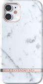 Richmond & Finch White Marble Apple iPhone 12 mini Back Cover