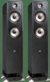 Polk Audio Signature S50E Zwart (per paar)