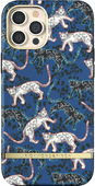 Richmond & Finch Blue Leopard Apple iPhone 12 Pro Max Back Cover