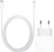 Apple Usb C Oplader 20W + Apple Lightning naar Usb C Kabel 1 m