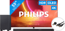 Philips 55OLED855 - Ambilight + Soundbar + HDMI kabel