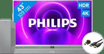 Philips 43PUS8505  - Ambilight (2020) + Soundbar + HDMI kabel