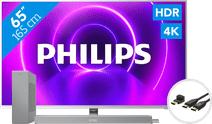Philips 65PUS8505 - Ambilight (2020)+ Soundbar + HDMI kabel
