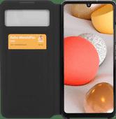 Samsung Galaxy A42 S View Book Case Zwart