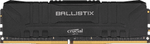 Crucial Ballistix 4GB 2400MHz DDR4 DIMM CL16 Black (1x4GB)