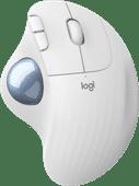 Logitech M575 ERGO Draadloze Trackball Muis Wit