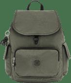 Kipling City Pack S Green Moss 13L