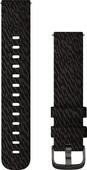 Garmin Nylon Bandje Zwart 20 mm