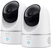 Eufy by Anker Eufycam 2K Indoor Pan & Tilt Duo Pack