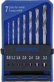 Dremel 7-piece Drill Bit Set