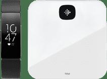 Fitbit Inspire HR Zwart met Fitbit weegschaal