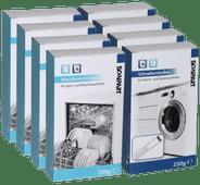 Multipack (vaat)wasmachine reiniging & ontkalker 4+4