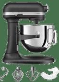 KitchenAid Artisan Mixer 5KSM7580XEBK Bowl-Lift Vulkaan Zwart