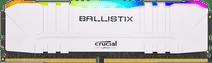 Crucial Ballistix 8GB 3200MHz DDR4 DIMM CL16 RGB White (1x8GB)