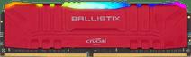 Crucial Ballistix 8GB 3200MHz DDR4 DIMM CL16 RGB Red (1x8GB)