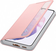 Samsung Galaxy S21 Clear View Book Case Roze