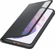Samsung Galaxy S21 Plus Clear View Book Case Zwart
