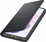 Samsung Galaxy S21 Led View Book Case Zwart