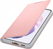Samsung Galaxy S21 Led View Book Case Roze